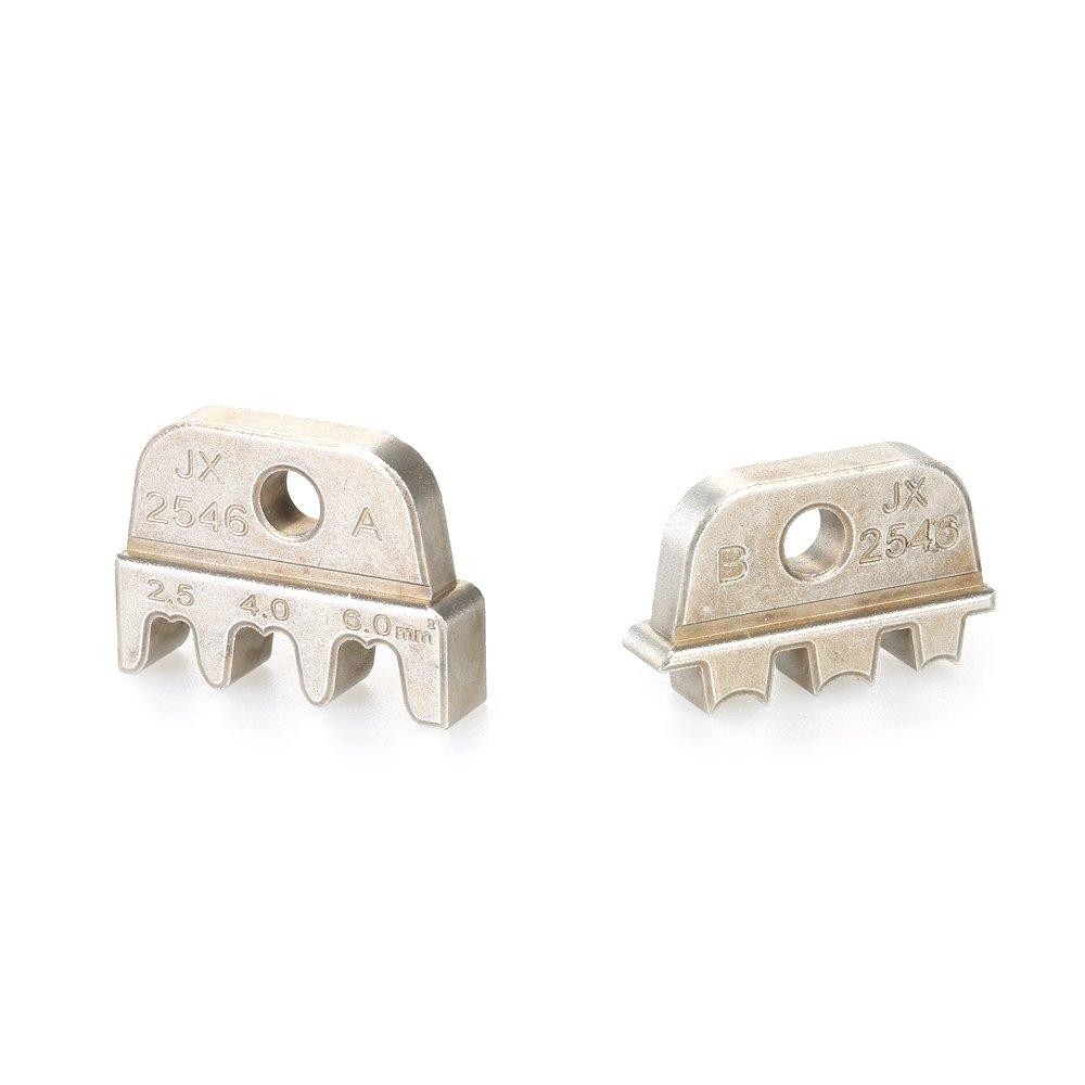KKmoon JX-1601-2546 AWG14-10 2.5-6mm/² Cable Rizador/Crimping Alicates Mand/íbula/Cord/ón Contera Crimpers/ Cable Fin Terminal Mand/íbulas Molde
