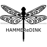 Tribal Fairy Dragonfly Die Cut Vinyl Car & Truck Decal Window Sticker