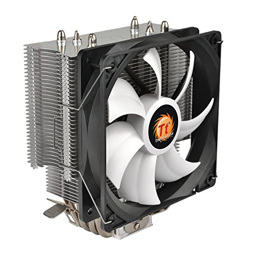 Thermaltake Contac Silent 12 150W INTEL/AMD with AM4 Support 120mm PWM CPU Cooler CL-P039-AL12BL-A by Thermaltake