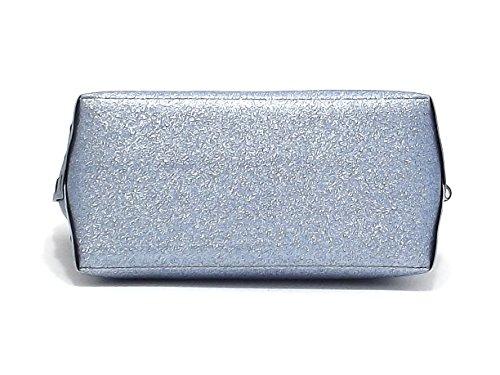 Gabs borsa donna a spalla, GSHO tg L, pvc glitterato, zaffiro E8102