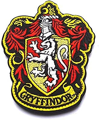 Oyster-Patch Harry Potter Hogwarts House of Gryffindor/Hufflepuff ...
