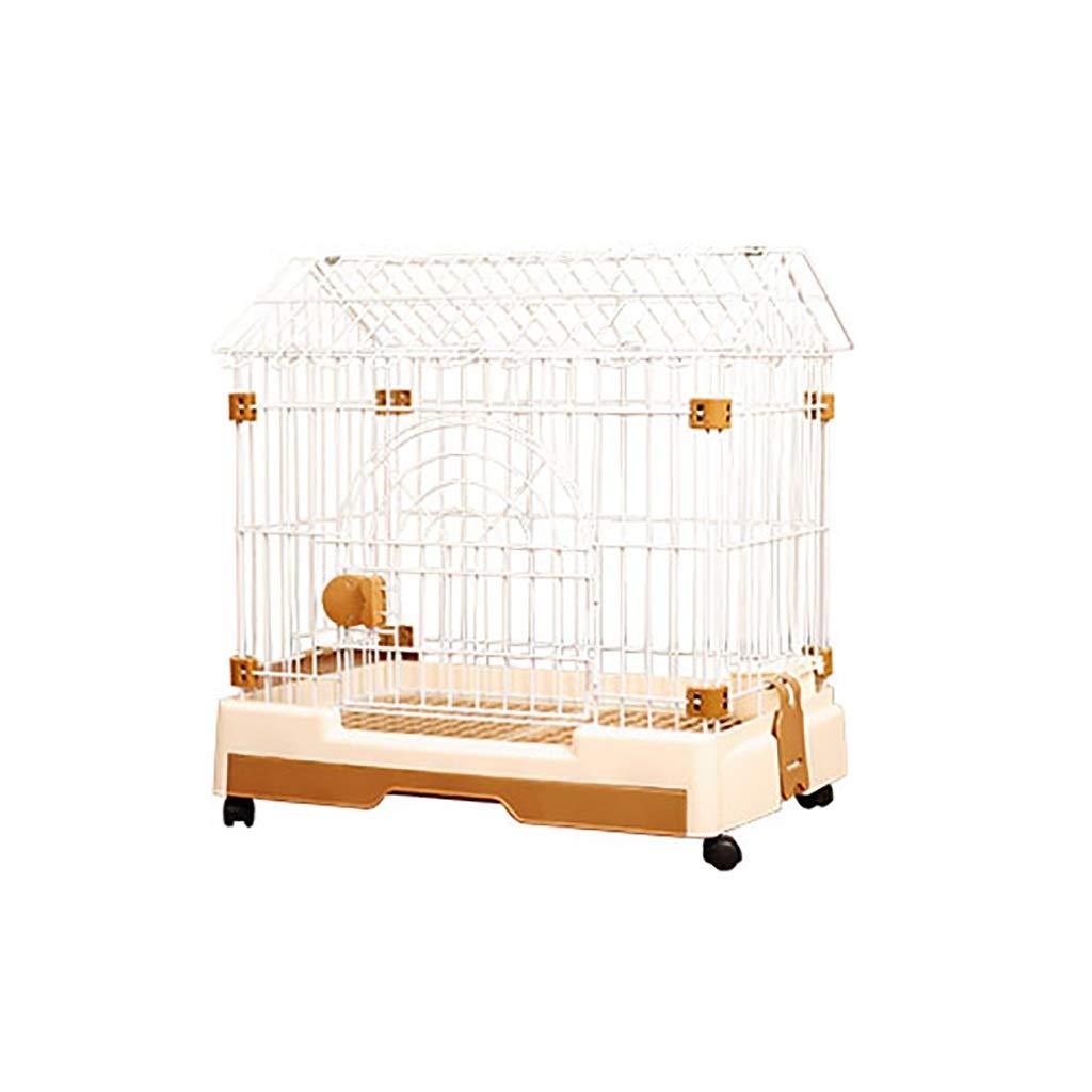 795373cm Pet fence Pet cage Pet indoor folding dog cage Pet folding fence Puppy fence Indoor fence Small dog Household indoor (Size   79  53  73cm)