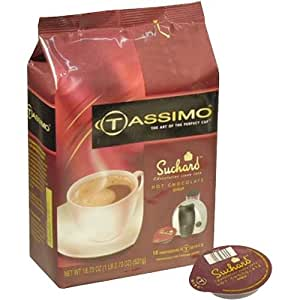 SUCHARD Hot Chocolate Syrup T-Disks for Tassimo Hot Beverage System