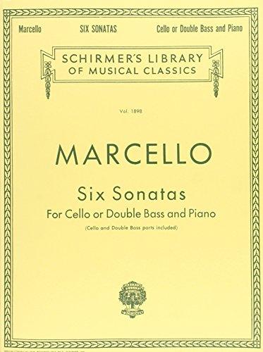Six Sonatas F/Cello Or Double Bass...