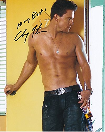 channing-tatum-signed-autographed-shirtless-w-pabst-blue-ribbon-photo