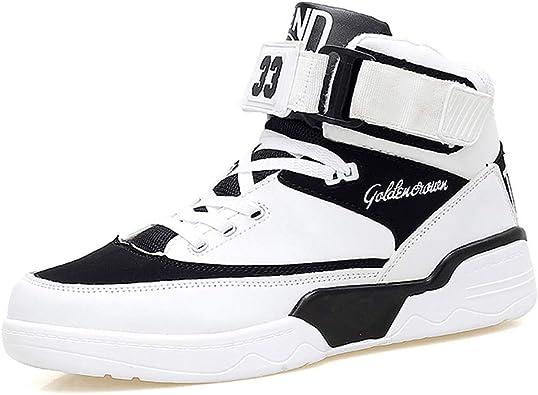 Hmulan Mens High-top Casual Shoes
