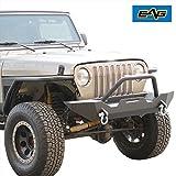 03 wrangler tj grille inserts - EAG 99-06 Jeep Wrangler TJ Aluminum Polished Front Hood Billet Grille Insert