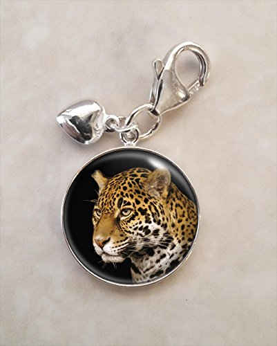 Jaguar Animal .925 Sterling Silver Charm
