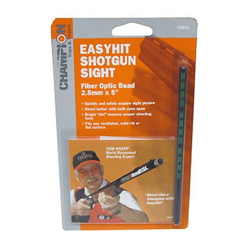 Champion Traps and Targets, Easy Hit Shotgun Sight, 2.5mm, Green