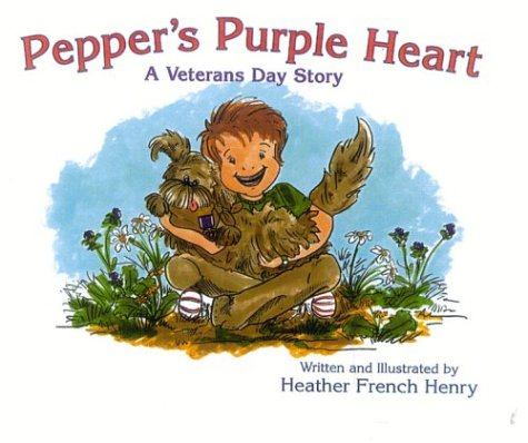 Pepper's Purple Heart: A Veterans Day Story