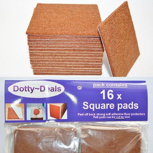 Floor Protection Rosin Paper Floor Protection Floor: Furniture Pads 20 Piece Felt Pads Beige Bundle