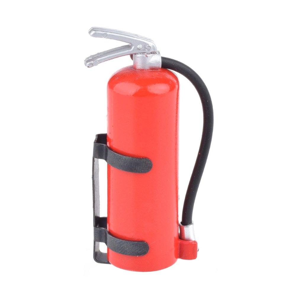 1/10 Scale Fire Extinguisher RC Rock Crawler Accessory for AMIYA CC01 RC4WD D90 D110 RC Truck Car Parts RCAIDONG