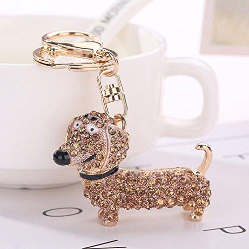 TraveT Fashion Alloy Diamonds Cute Dog