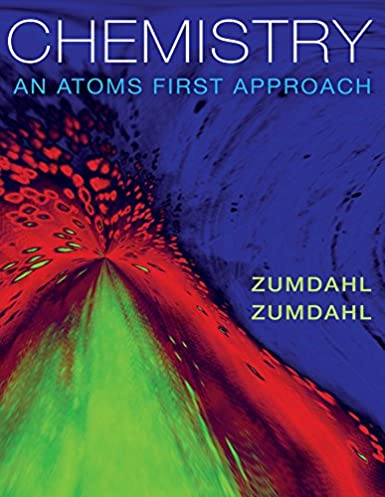 chemistry an atoms first approach steven s zumdahl susan a rh amazon com Bishop Atoms First Mark Bishop Atoms First