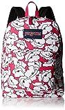 Jansport Superbreak Backpack - pink/white, one size
