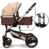 Belecoo™ Luxury Newborn Baby Foldable Anti-shock High...