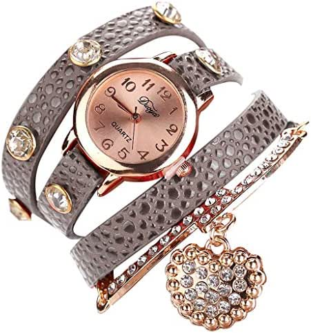 Ultramall BC93 Fashion Small and Exquisite Dial Simple Leather Strap Ladies Bracelet Watch