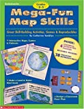 Mega-Fun Map Skills, Catherine Tamblyn, 0590187996