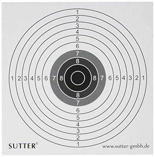 Pack de 100 cibles 14x14cm - pour Airsoft, Softair, petit calibres et plus 1
