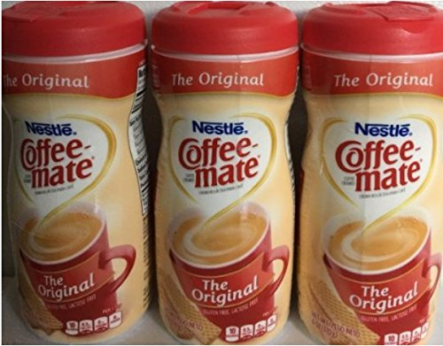 Nestle Coffee-mate Original Coffee Creamer, 6 oz (Pack of 3)