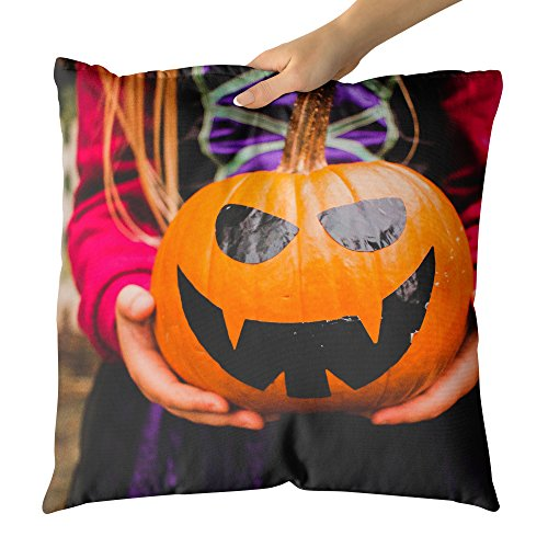 Westlake Art - Pumpkin Halloween - Decorative Throw Pillow Cushion - Picture Photography Artwork Home Decor Living Room - 26x26 Inch for $<!--$44.95-->