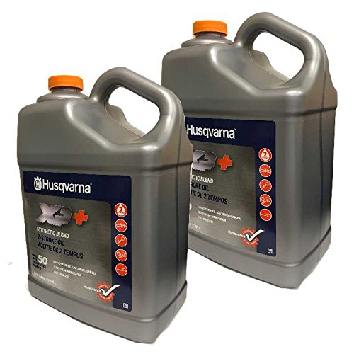 Husqvarna Set Of 2 OEM XP+ 2 Stroke Engine Oil 1 Gallon Bottle 593152305