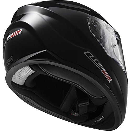 Amazon.com: LS2 Stream Solid Full Face Motorcycle Helmet With Sunshield (Black, X-Small): Automotive