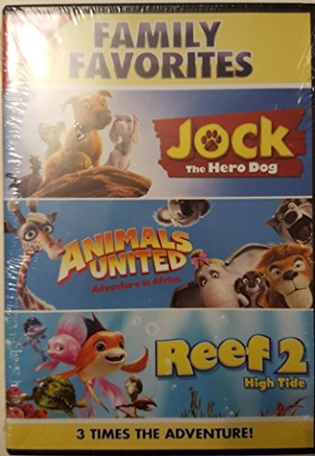 Jock the Hero Dog / Animals United / Reef 2 High Tide DVD triple feature