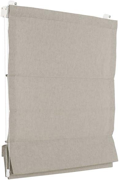 RAFFGARDINE FALTROLLO MEGA AUSWAHL 11 MA/ßE UND 7 FARBEN IM SHOP PREMIUM RAFFROLLO SAND 120x175 cm