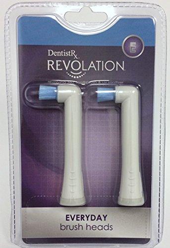 DentistRx Revolation Everyday Brush Head Refill - 2 Pack ()