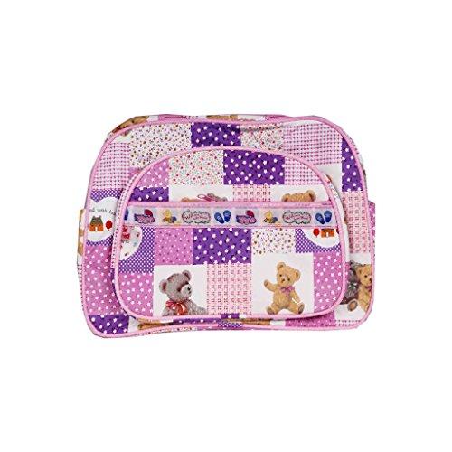HanuEnterprises FRONTZIP Messenger Diaper Bag