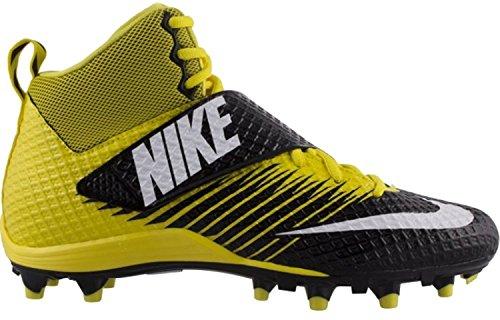 Nike Mens Lunarbeast PRO TD Football Cleats Opti Yellow/White-black