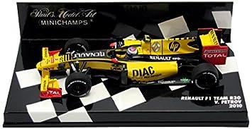 minichamps.renault f1 team 2010.r30