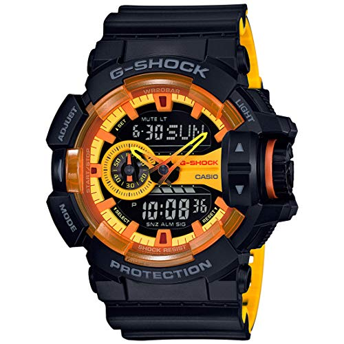 Casio G-shock Analog Digital Black and Yellow Mens for sale  Delivered anywhere in USA