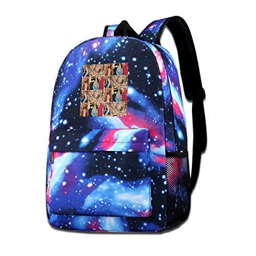 ASDONES Unisex Galaxy Bookbag Lele Celoso Pons Backpack Bag for Mens Womens Teens