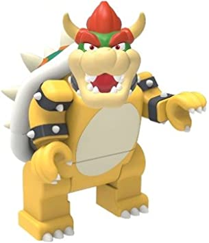 Bowser Super Mario Serie 3 KNEX® LOOSE Minifigura: Amazon.es ...