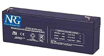 Batería de alarma antirrobo 2.3Ah recargable para ...