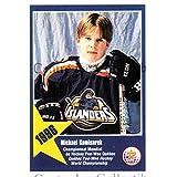 Mike Komisarek Hockey Card 2006 Quebec Pee-Wee Danone #5 Mike Komisarek