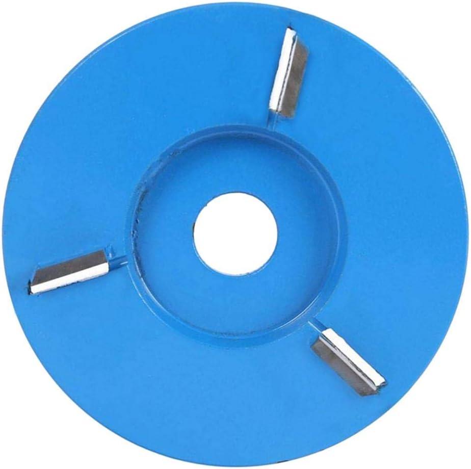 Tallar Ra/íces Tallar Madera Mesas de Caf/é Almencla Disco de Talla de Madera de Amoladora Angular para Trabajar la Madera etc - Arc 3 Tooth Blue Pulir Bandejas de T/é