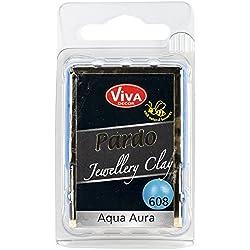 Viva Decor Pardo Jewelry Clay, 56g, Aqua Aura