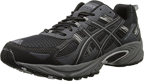 ASICS Men's Gel Venture 5 Running Shoe, Black/Onyx/Charcoal, 7.5 M US