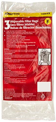 Shop-Vac 9066200 10-14 Gallon  Liquid Collection Filter Bag, 3-Pack