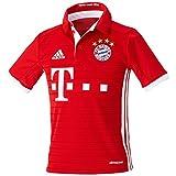 adidas Jungen Fußball/Heim-Trikot FC Bayern München Heimtrikot Replica, Fcb True Red/White, 164