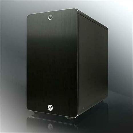 RAIJINTEK Thetis Classic Midi-Tower Negro - Caja de Ordenador (Midi-Tower, PC, Aluminio, Negro, ATX,Micro ATX,Mini-ATX, 17 cm): Amazon.es: Informática