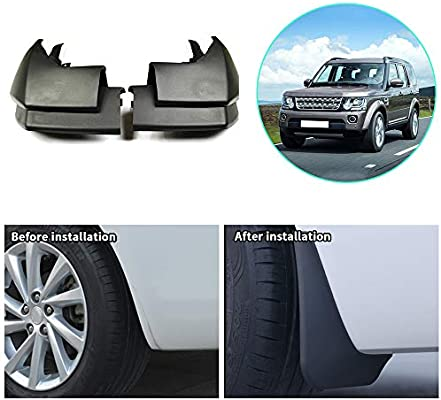 Upgraded Car Mud Flaps Mudguards for Land Rover Discovery 4 2009-2016 Front Rear Splash Guards Car Fender Styling /& Body Fittings Black 4Pcs