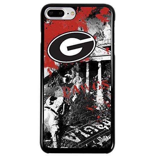 Georgia Bulldogs Cell Phone Case - Guard Dog Georgia Bulldogs Paulson Designs Spirit Case for iPhone 7 Plus/8 Plus
