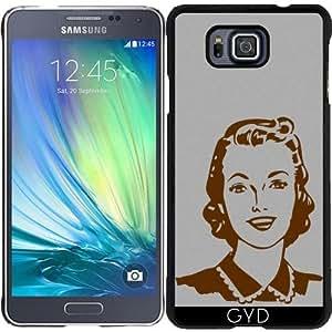 Funda para Samsung Galaxy Alpha - La Cabeza De La Vendimia by hera56