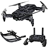 MightySkins Skin For DJI Max Coverage - Digital Camo | Protective, Durable, and Unique Vinyl Decal wrap cover | Easy To Apply, Remove, and Change Styles | Made in the USA