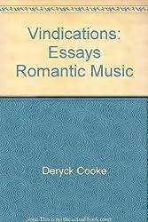 Vindications: Essays Romantic Music