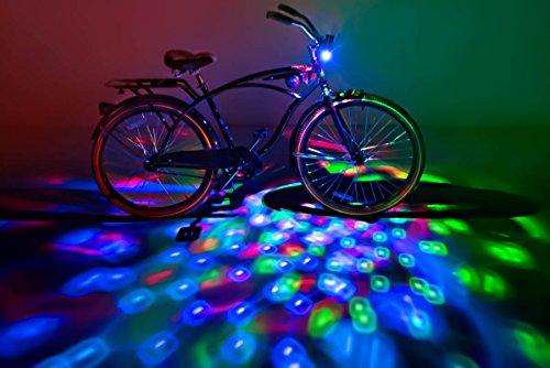 Brightz, Ltd. Cruzin Brightz Blinking LED Bicycle Accessory, Multicolor